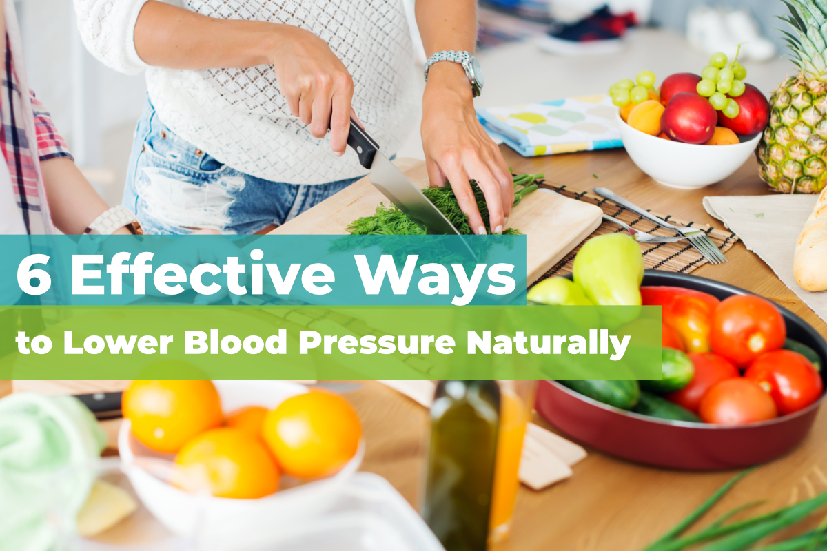 6 Natural Ways to Lower Blood Pressure